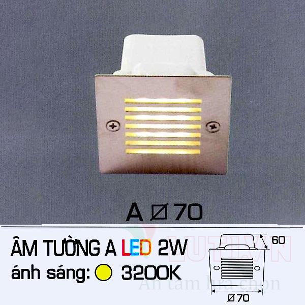 Đèn cầu thang AFC-ATA-2W