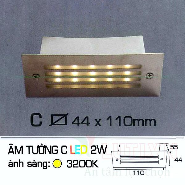 Đèn cầu thang AFC-ATC-2W