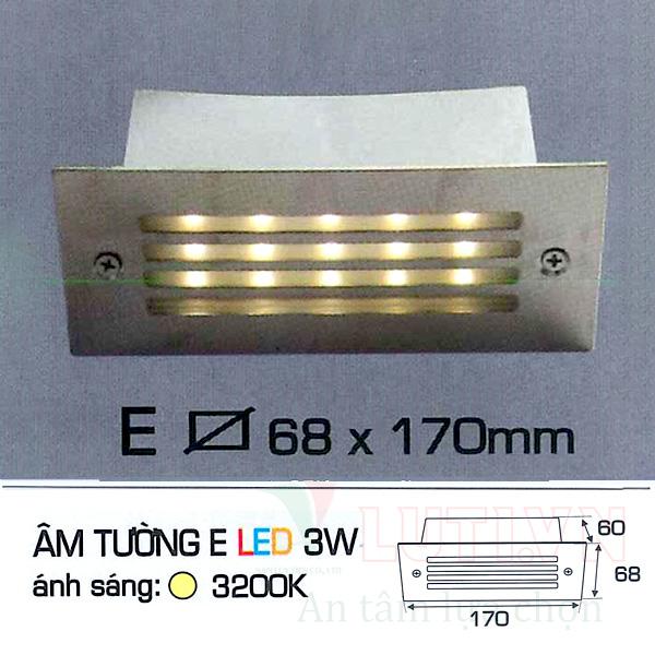 Đèn cầu thang AFC-ATE-3W