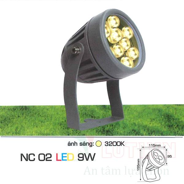 Đèn ghim cỏ AFC-NC02-9W