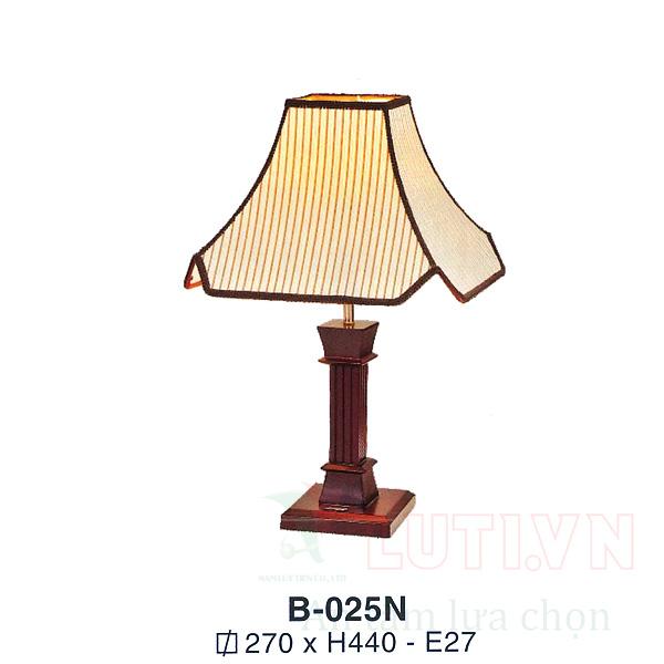 Đèn bàn phòng ngủ B-025N