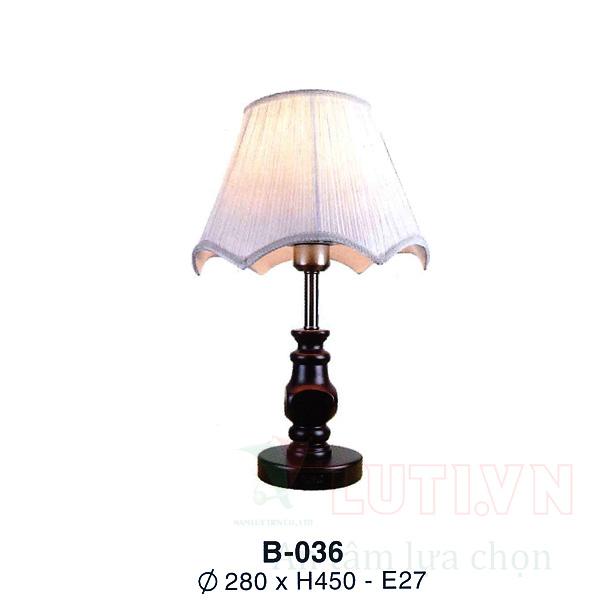 Đèn bàn phòng ngủ B-036