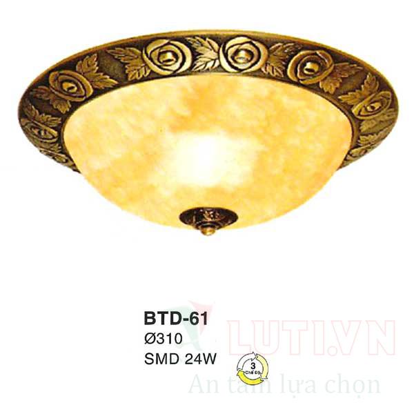 Đèn mâm áp trần BTD-61