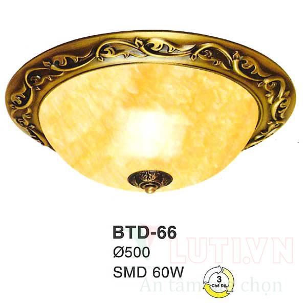 Đèn mâm áp trần BTD-66