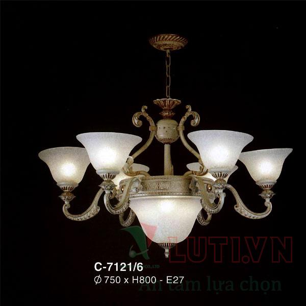 Đèn chùm cổ điển C-7121/8+4