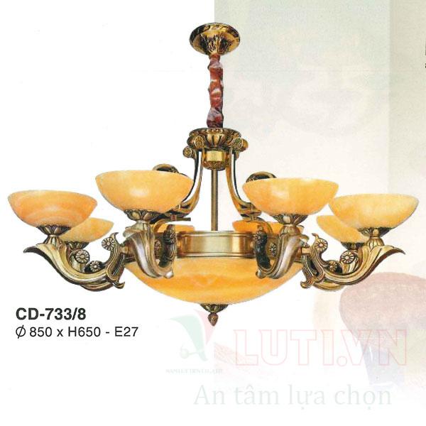 Chao đèn thả CD-733/8