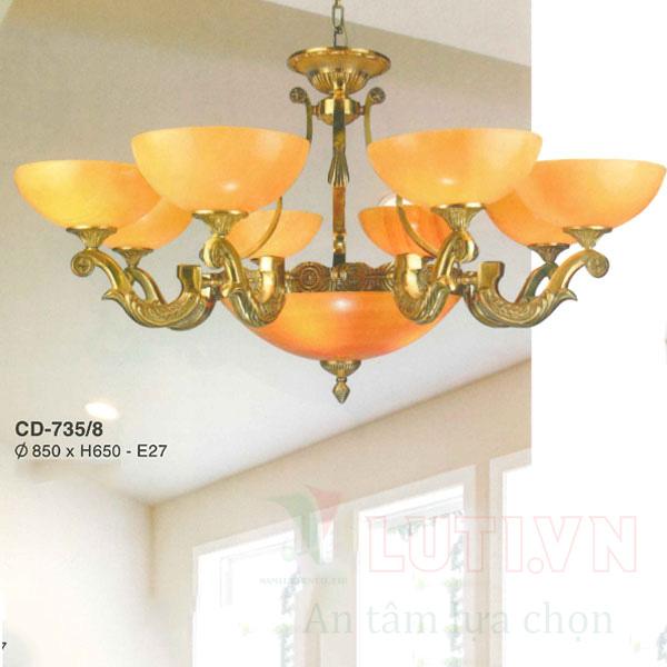 Chao đèn thả CD-735/8