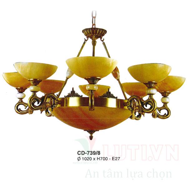 Chao đèn thả CD-739/8