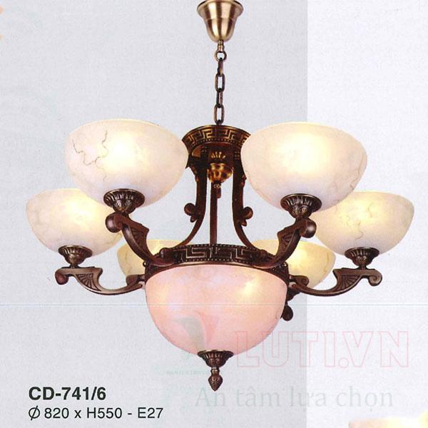Chao đèn thả CD-741/6