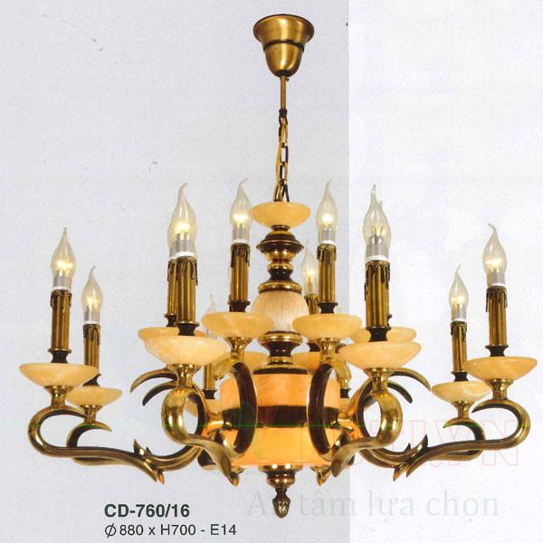 Đèn chùm đồng CD-760/16