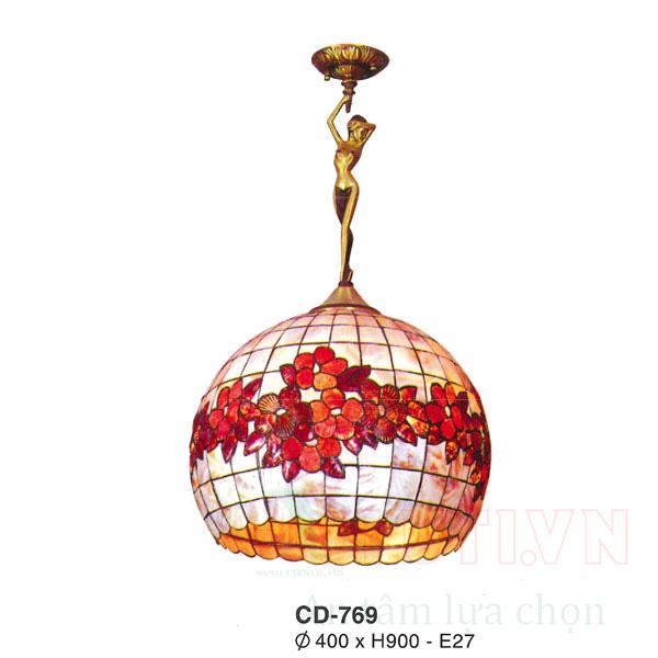Đèn thả phòng khách CD-769