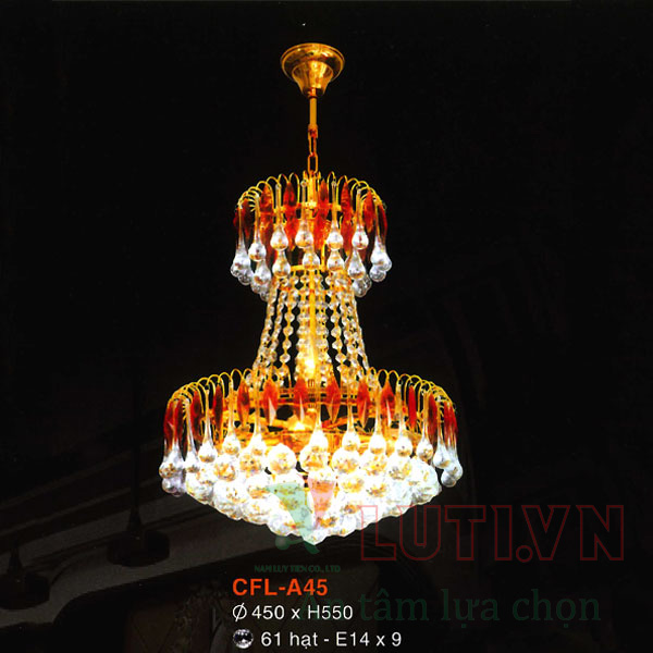 Đèn chùm pha lê CFL-A45