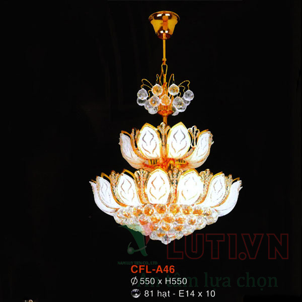 Đèn chùm pha lê CFL-A46