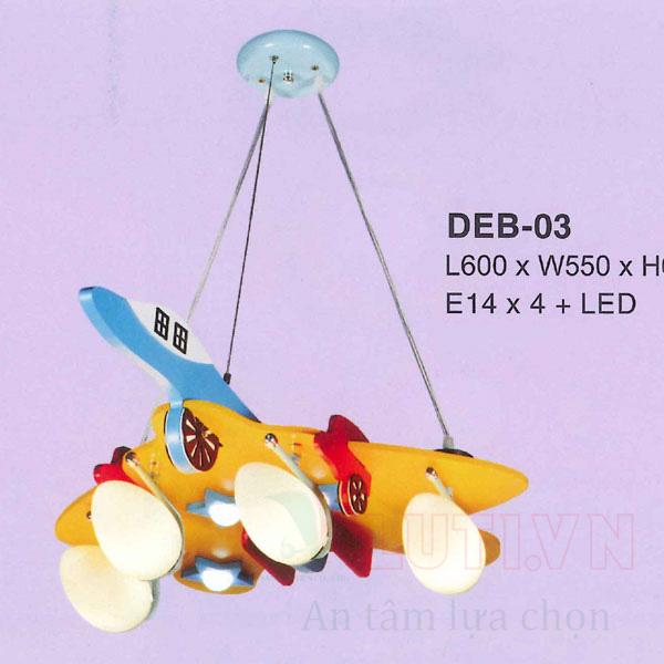 Đèn thả phòng ngủ trẻ em DEB-03