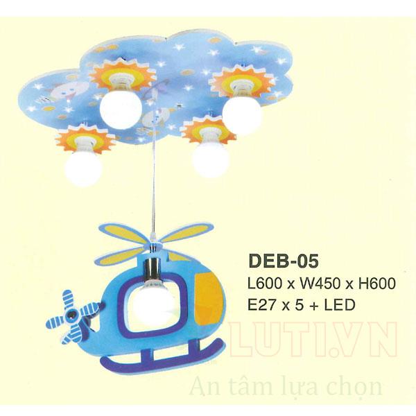 Đèn thả phòng ngủ trẻ em DEB-05