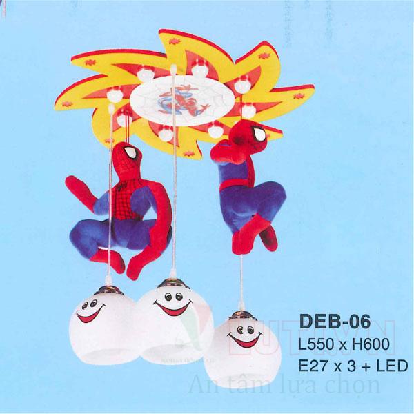 Đèn thả phòng ngủ trẻ em DEB-06