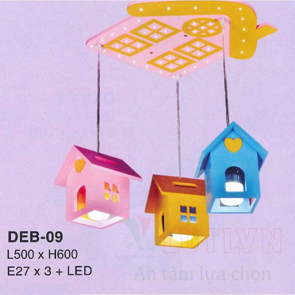 Đèn thả phòng ngủ trẻ em DEB-09