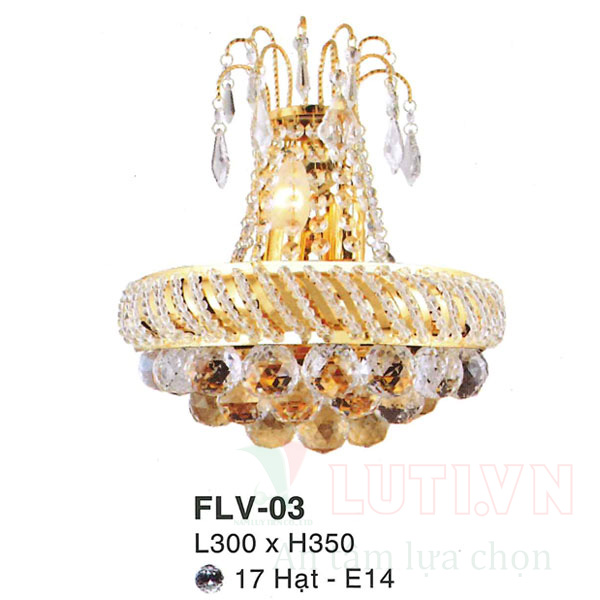 Đèn tường cổ điển FLV-03