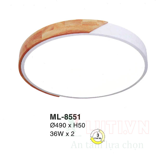 Đèn mâm đơn giản ML-8551