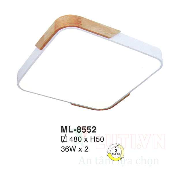 Đèn mâm đơn giản ML-8552