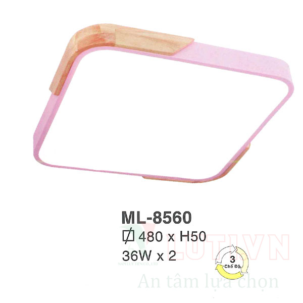Đèn mâm đơn giản ML-8560