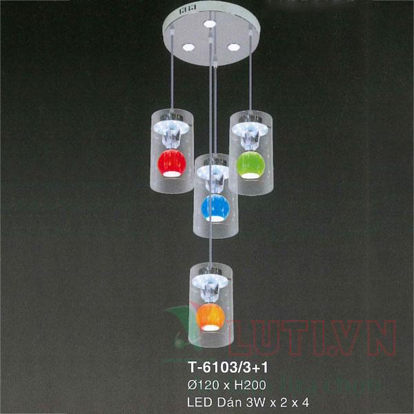 Đèn thả bàn ăn T-6103