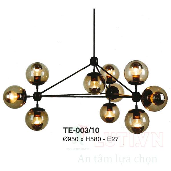 Đèn thả thủy tinh TE-003