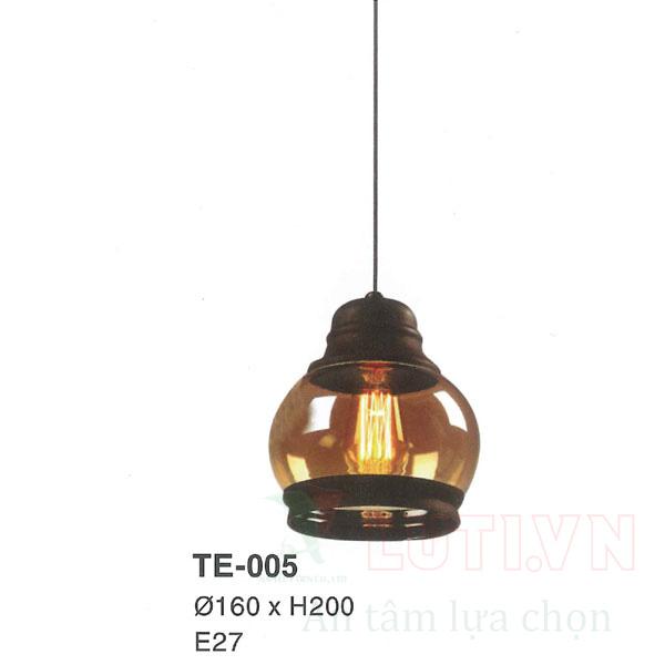 Đèn thả thủy tinh TE-005