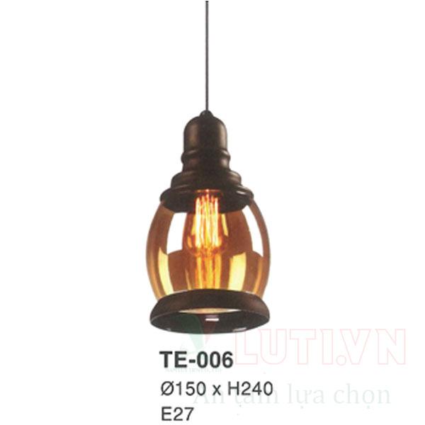 Đèn thả thủy tinh TE-006
