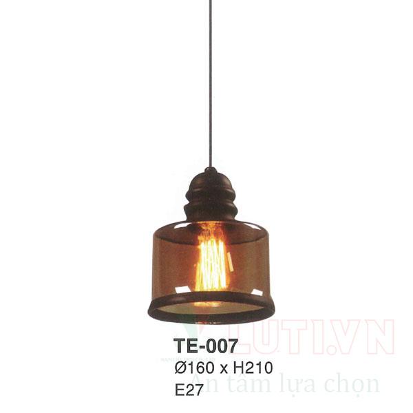Đèn thả thủy tinh TE-007