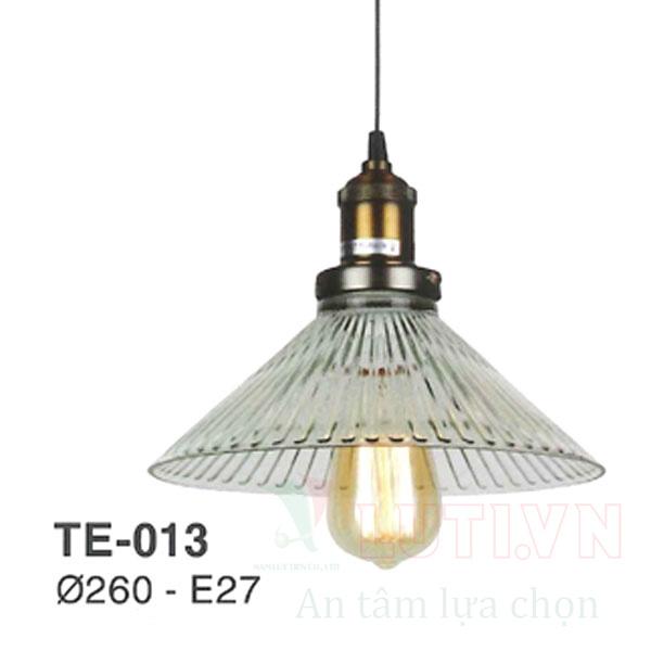 Đèn thả thủy tinh TE-013
