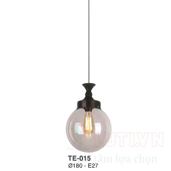 Đèn thả thủy tinh TE-015