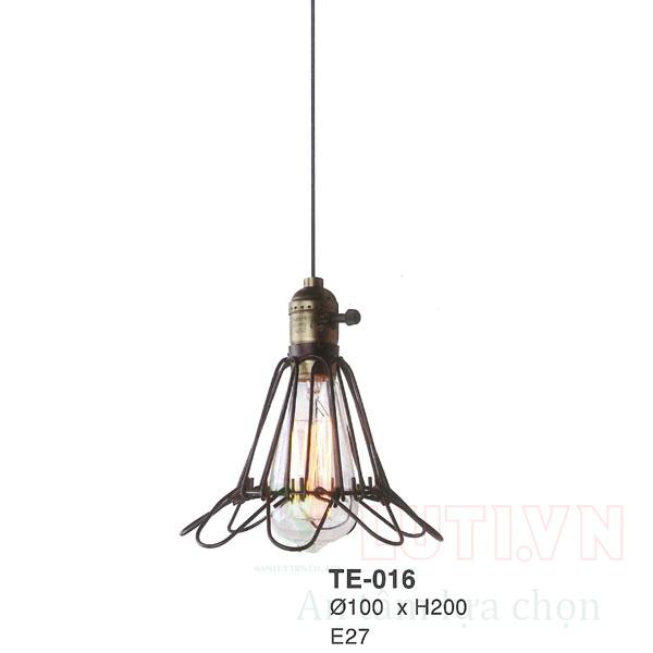 Đèn thả thủy tinh TE-016