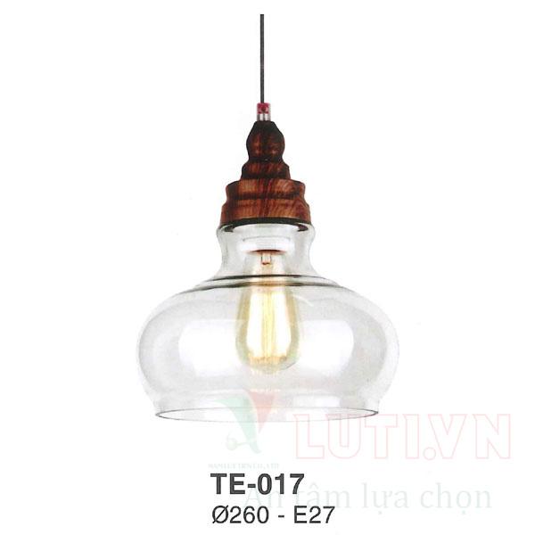 Đèn thả thủy tinh TE-017