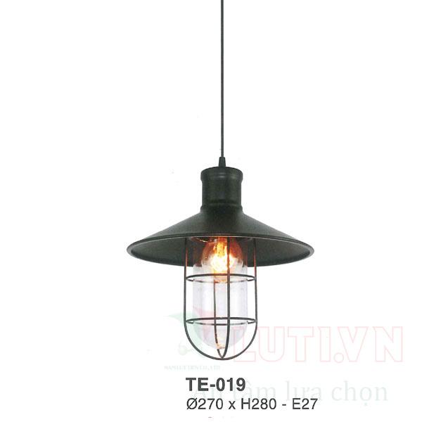 Đèn thả thủy tinh TE-019