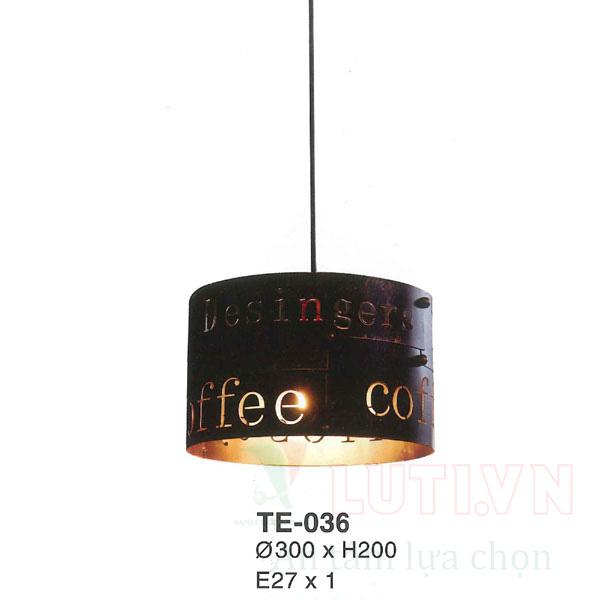 Đèn trang trí quán cafe TE-036