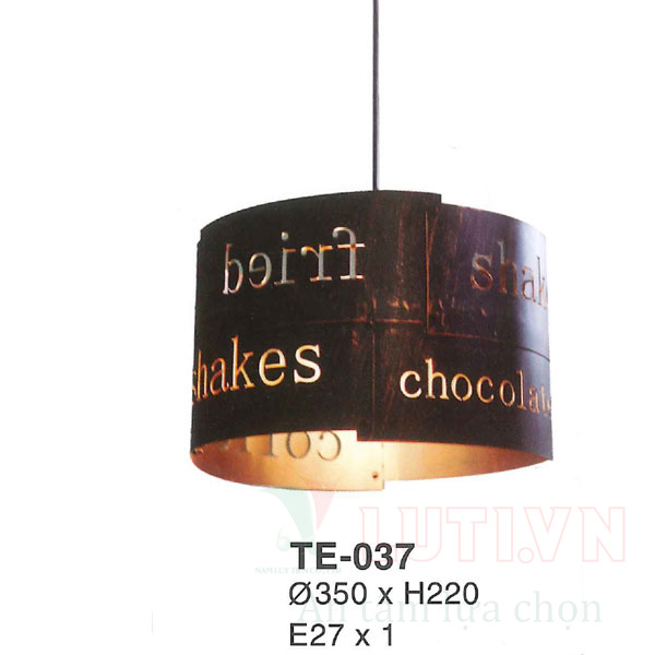Đèn trang trí quán cafe TE-037