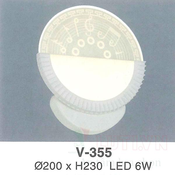 Đèn tường cầu thang V-355