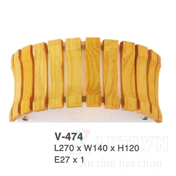 Đèn tường phòng khách V-474