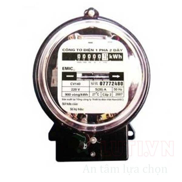 Công tơ điện 1 pha CV140-5/20A
