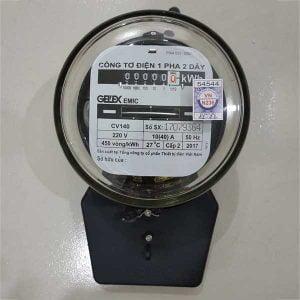Công tơ điện hay đồng hồ điện 1 pha Emic